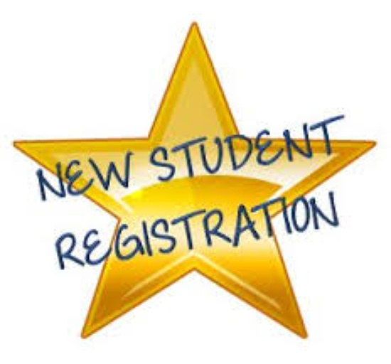New Student Registration is Wednesday July 25th