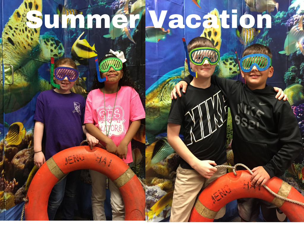 GES wishes you all a safe & enjoyable summer break!