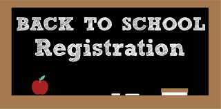Back to School Registration 7/30 or 7/31 4:00pm-7:00pm